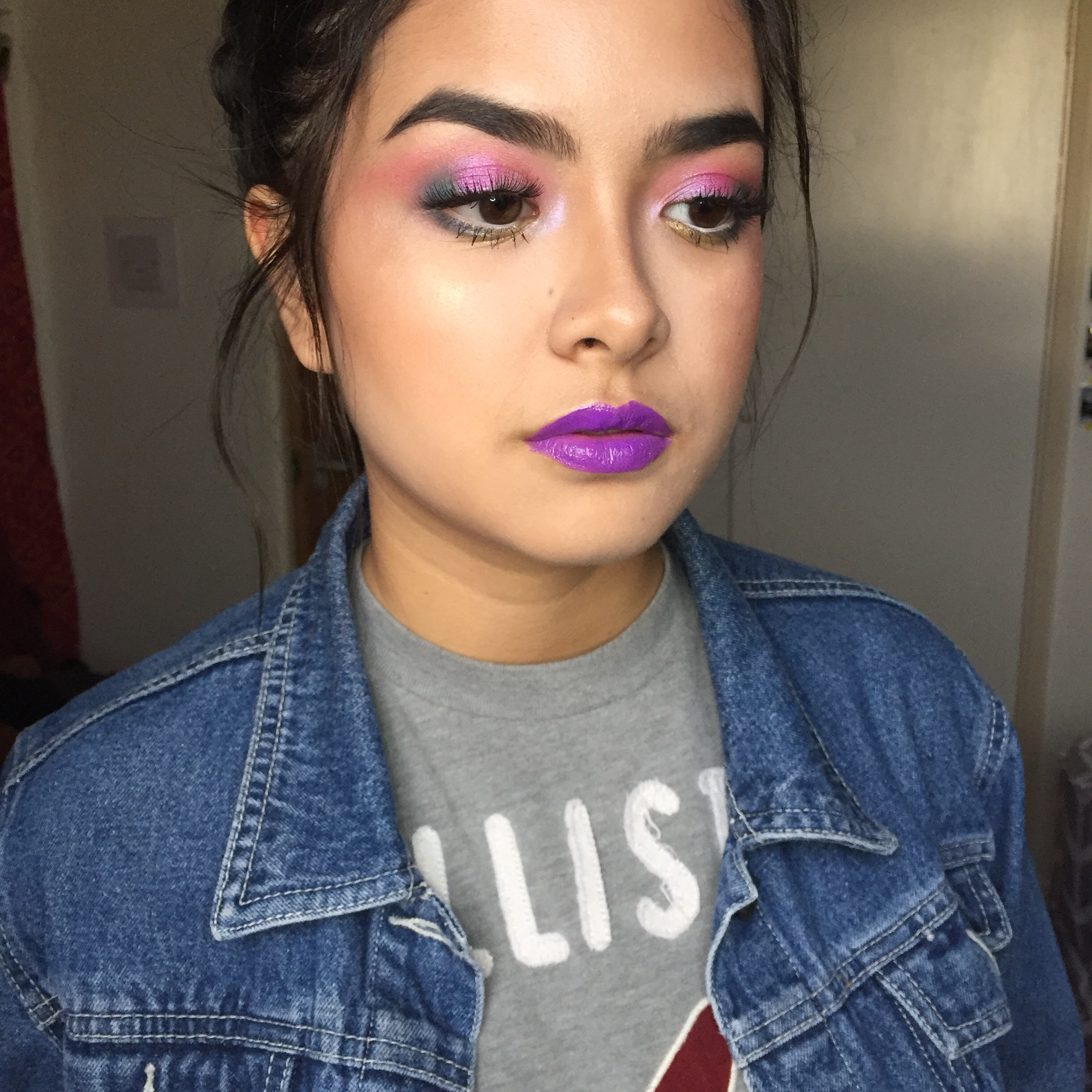 Colourful Makeup Using Nyx Mochi Palette Look Sisters Who Makeup Together