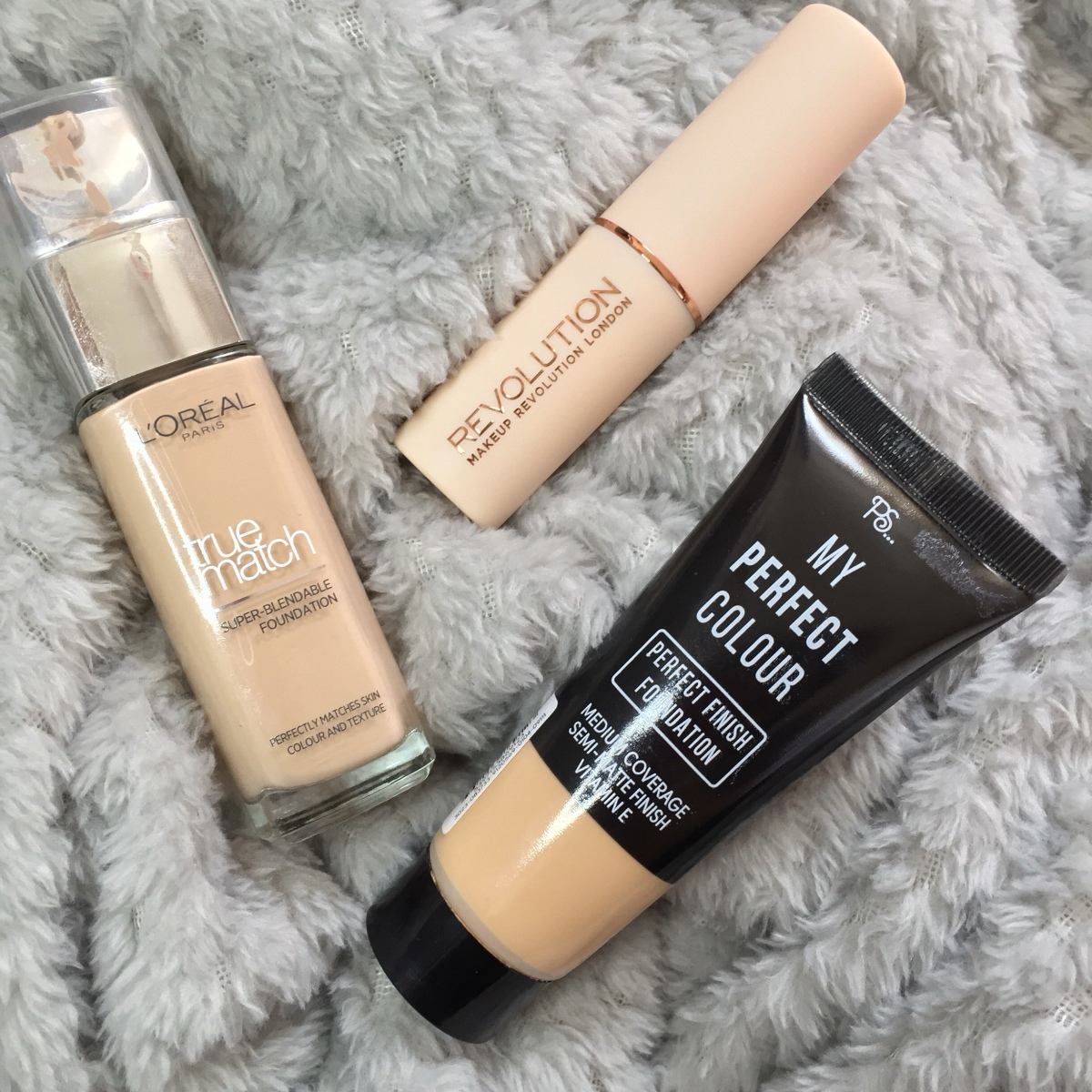 Our Top 3 Foundations.